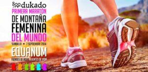 Primera maratón femenina en Sunbilla.