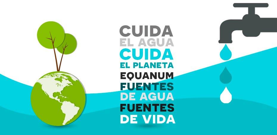 equanum, agua, cafe, cuida el agua