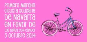 1ª Marcha Ciclista Solidaria de Navarra
