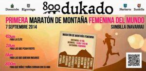 800 Dukado Primera maratón femenina