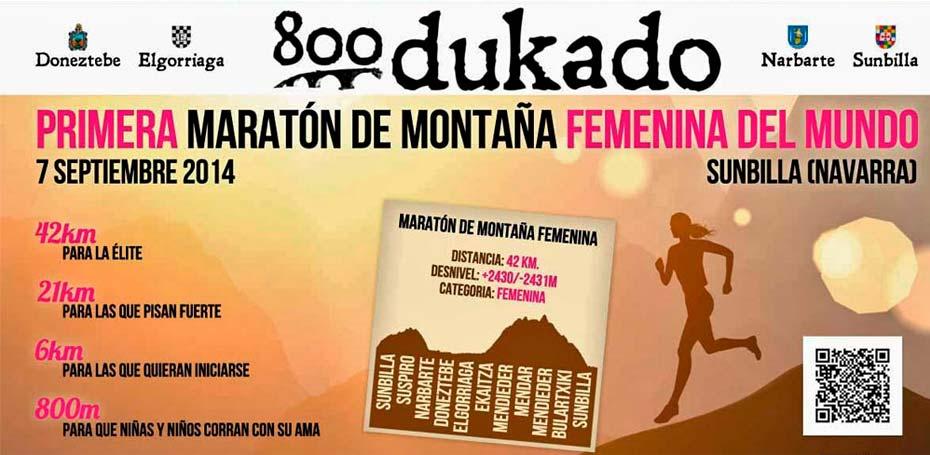 En este momento estás viendo 800 Dukado Primera maratón femenina