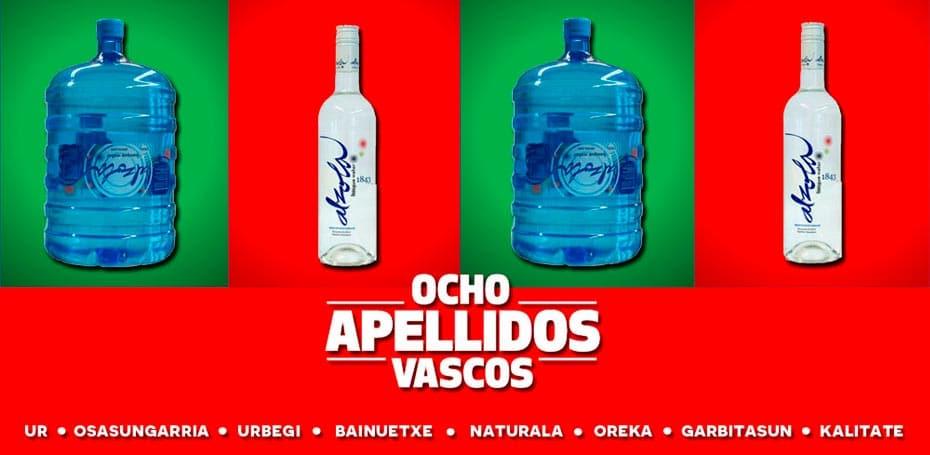 Agua mineral natural Alzola Basque Water