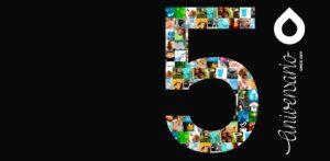 Equanum cumple 5 años! Queremos celebrarlo contigo.