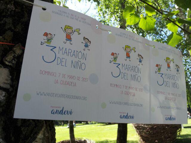 III Maratón del Niño 2017. ANDEVI – Equanum Solidario