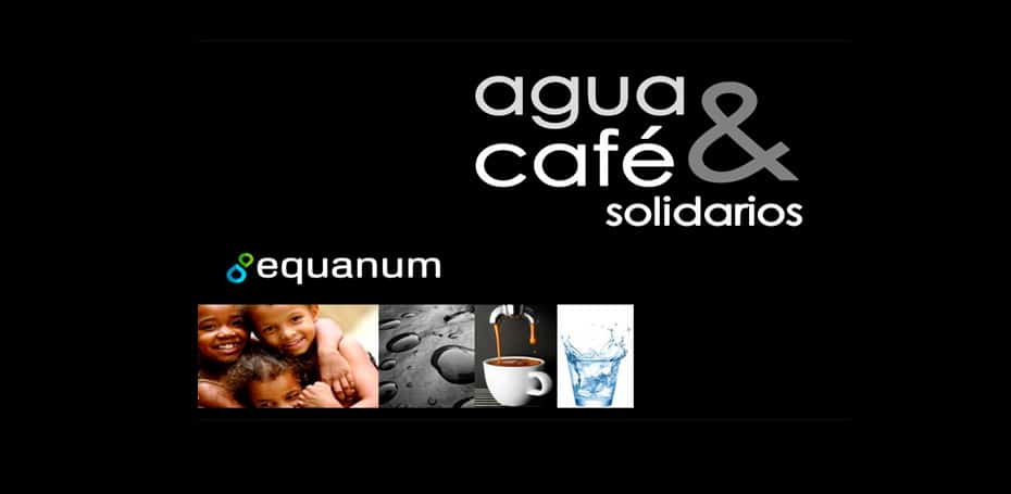 Folleto Equanum Agua & Café Solidarios