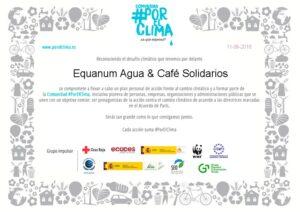 Equanum se suma a la Comunidad #PorElClima.